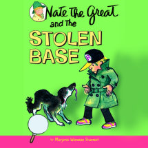 Nate the Great and the Stolen Base Cover