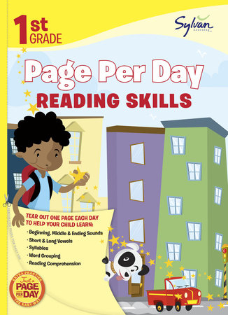 First Grade Page Per Day: Reading Skills by