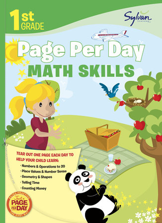 First Grade Page Per Day: Math Skills by