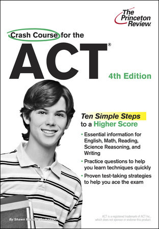 Crash Course for the ACT, 4th Edition by