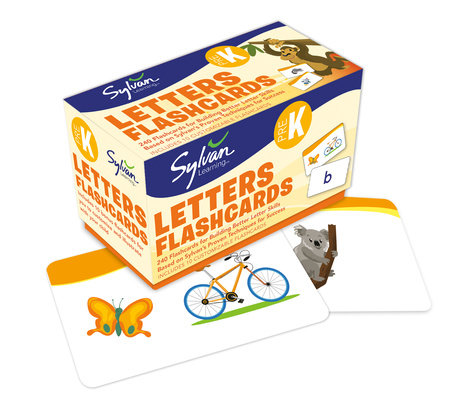 Pre-K Letters Flashcards by Sylvan Learning