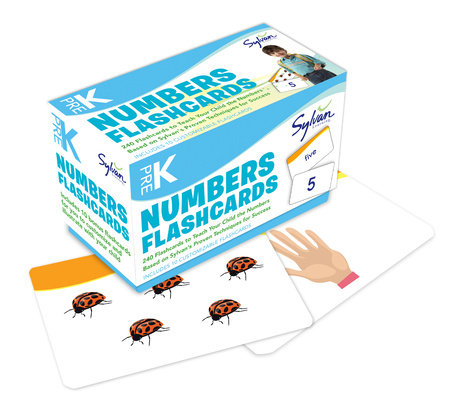 Pre-K Numbers & Shapes Flashcards by Sylvan Learning