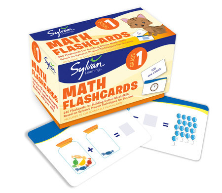 First Grade Math Flashcards by Sylvan Learning