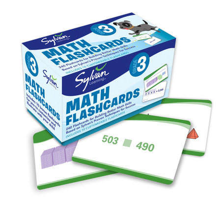 Third Grade Math Flashcards by Sylvan Learning