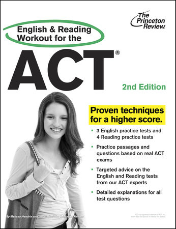 English and Reading Workout for the ACT, 2nd Edition by Princeton Review