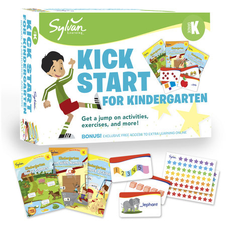 Sylvan Kick Start for Kindergarten by Sylvan Learning