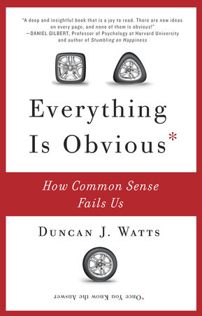 Everything Is Obvious by