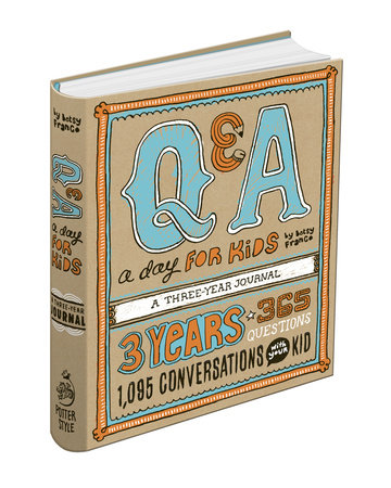 Q&A a Day for Kids by Betsy Franco