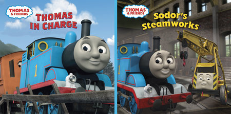 Thomas In Charge/Sodor's Steamworks (Thomas & Friends) by