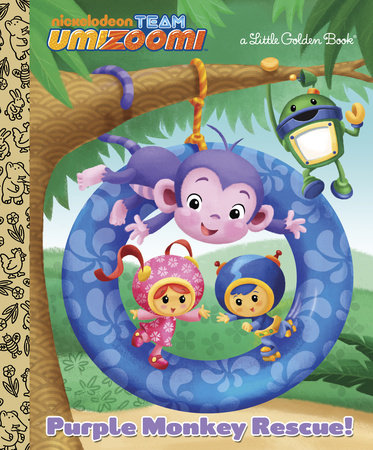 Purple Monkey Rescue! (Team Umizoomi) by Golden Books