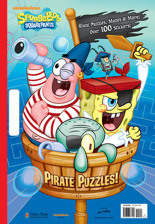 Pirate Puzzles! (SpongeBob SquarePants) by Frank Berrios