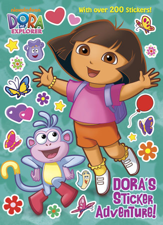 Dora's Sticker Adventure! (Dora the Explorer) by Golden Books