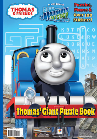 Thomas' Giant Puzzle Book (Thomas & Friends) by