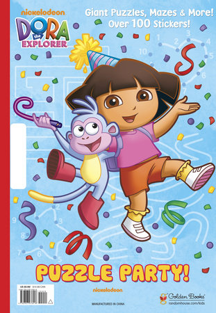Puzzle Party! (Dora the Explorer) by Golden Books