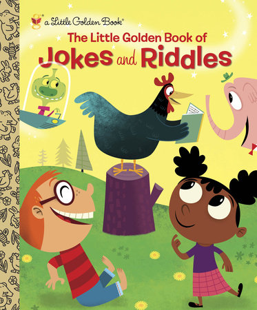 The Little Golden Book of Jokes and Riddles by