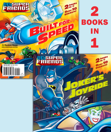 Joker's Joyride/Built for Speed (DC Super Friends) by