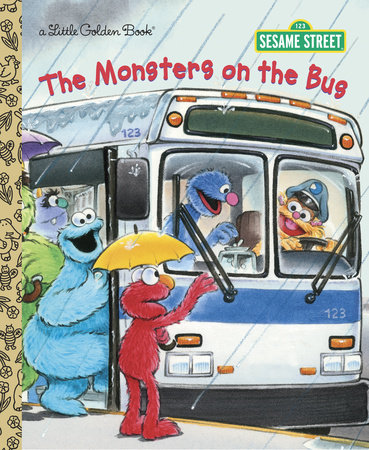 The Monsters on the Bus (Sesame Street) by Sarah Albee