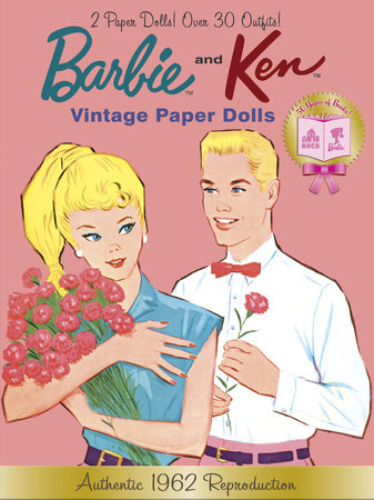Barbie and Ken Vintage Paper Dolls (Barbie) by Golden Books