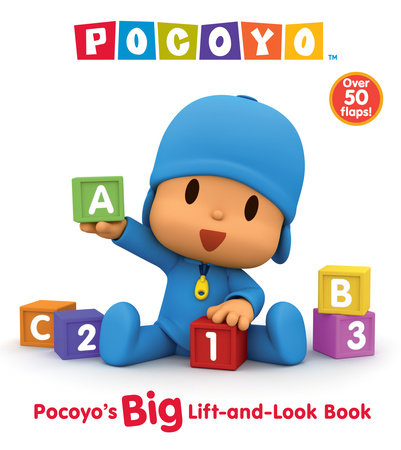Pocoyo's Big Lift-and-Look Book (Pocoyo) by