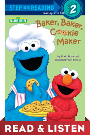Baker, Baker, Cookie Maker (sesame Street): Read & Listen Edition (ebk)