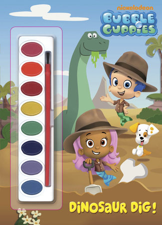 Dinosaur Dig! (Bubble Guppies) by Golden Books