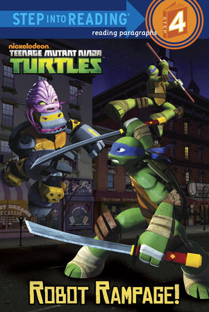 Robot Rampage! (Teenage Mutant Ninja Turtles) by