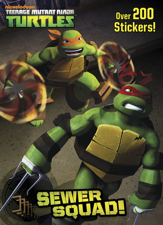 Sewer Squad! (Teenage Mutant Ninja Turtles) by Golden Books