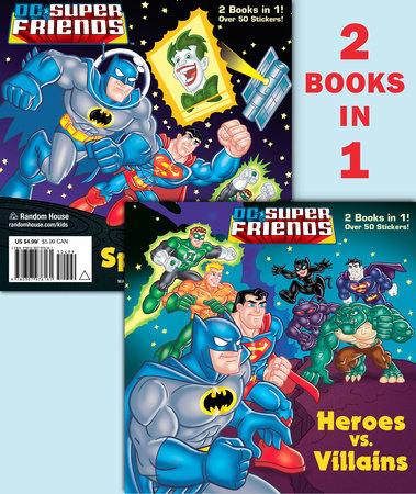 Heroes vs. Villains/Space Chase! (DC Super Friends) by