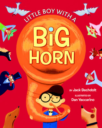 Little Boy with a Big Horn by