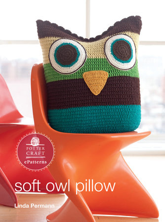Soft Owl Pillow by