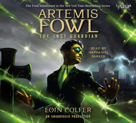 Artemis Fowl 8 The Last Guardian cover