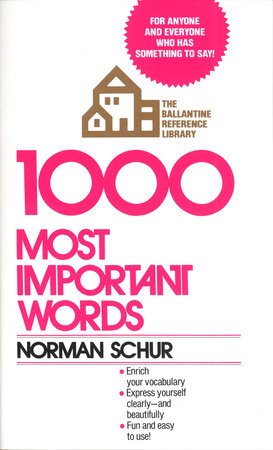 1000 Most Important Words by