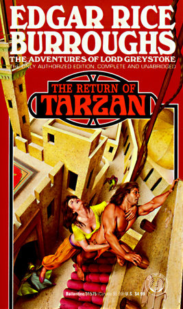 Return of Tarzan by Edgar Rice Burroughs