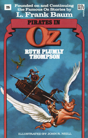 Pirates in Oz (Wonderful Oz Books, No 25) by Ruth Plumly Thompson