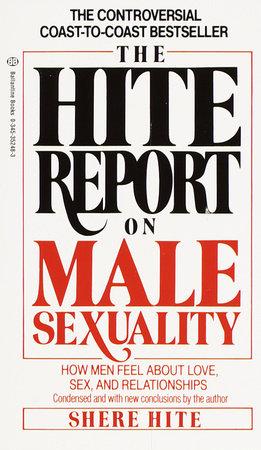Hite Report on Male Sexuality by Shere Hite