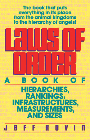 Laws of Order by Jeff Rovin