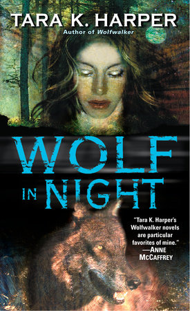 Wolf in Night by