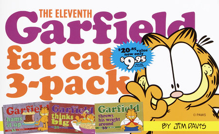 The Eleventh Garfield Fat Cat 3-Pack by