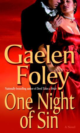 One Night of Sin by Gaelen Foley