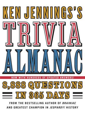 Ken Jennings's Trivia Almanac by Ken Jennings