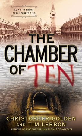 The Chamber of Ten by Christopher Golden and Tim Lebbon
