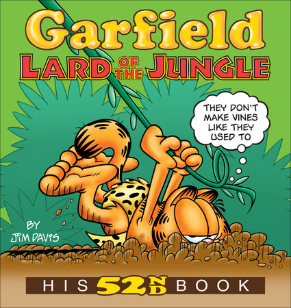 Garfield Lard of the Jungle by Jim Davis