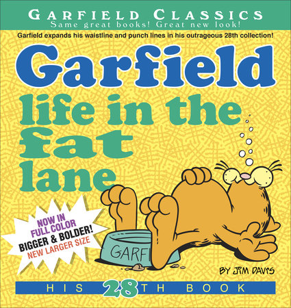 Garfield Life in the Fat Lane by Jim Davis