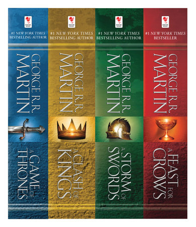 A Game of Thrones 4-Book Bundle by