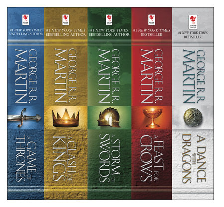 George R. R. Martin's A Game of Thrones 5-Book Boxed Set (Song of Ice and Fire Series) by