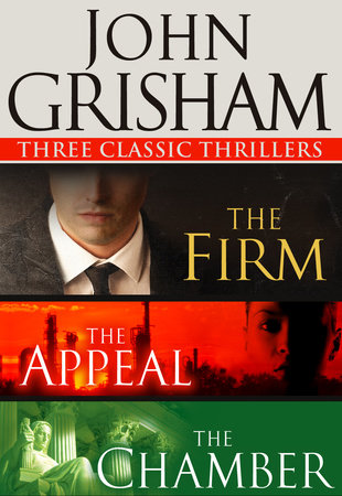 Three Classic Thrillers 3-Book Bundle by John Grisham