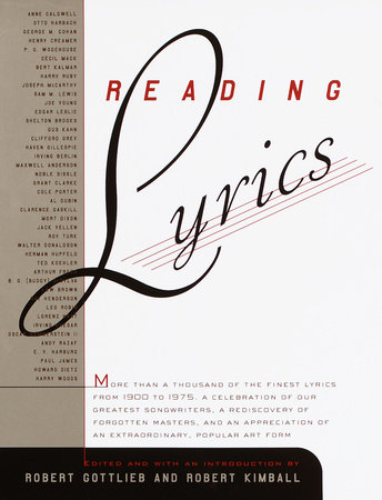 Reading Lyrics by