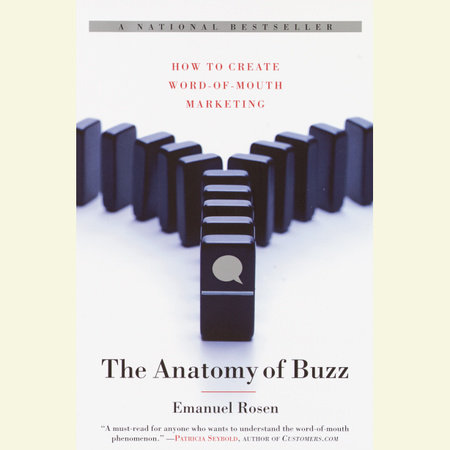 The Anatomy of Buzz by Emanuel Rosen