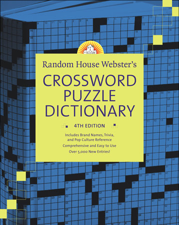 Random House Webster's Crossword Puzzle Dictionary, 4th Edition by
