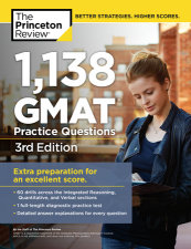 1,138 GMAT Practice Questions, 3rd Edition